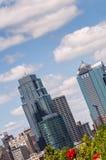 Kansas City skyline stock images