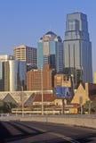 Kansas City skyline, MO Stock Photo