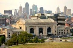 Kansas City Skyline royalty free stock photo