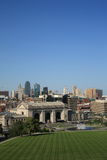 Kansas City Skyline - Union Station Royalty Free Stock Image