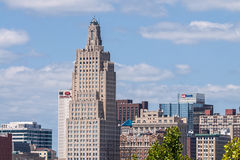 Kansas City skyline Royalty Free Stock Images