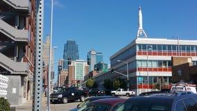 Kansas City tvärgator Arkivfoto