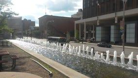 Kansas City-Wasserbrunnen Stockfotografie