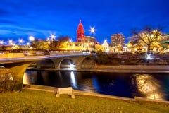 Kansas City-Weihnachten lizenzfreie stockfotografie