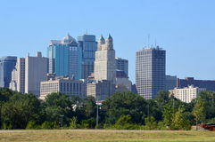 The Kansas Cityscape Stock Image