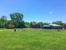 Kansas farm. A farm in Kansas royalty free stock image