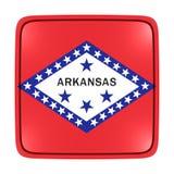 Kansas flag icon. 3d rendering of a Kansas State flag icon. Isolated on white background Stock Photo