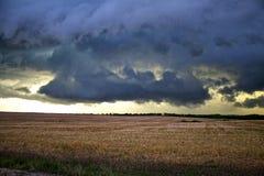 Kansas-Gewitter lizenzfreies stockbild