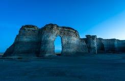 Kansas-Sonnenuntergang Lizenzfreies Stockfoto