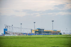 Kansas Speedway in Kansas City KS at sunrise Stock Photo