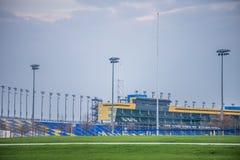 Kansas Speedway in Kansas City KS at sunrise Royalty Free Stock Photography