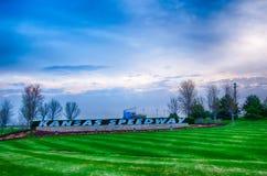 Kansas Speedway in Kansas City KS at sunrise Royalty Free Stock Photos