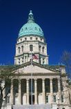 Kansas stan Capitol Zdjęcie Stock
