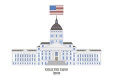 Kansas State Capitol, Topeka Royalty Free Stock Photos