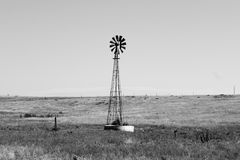 Kansas väderkvarn Royaltyfria Bilder