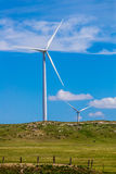 Kansas Wind Turbines Stock Photo