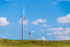 Kansas Wind Turbines Royalty Free Stock Photo