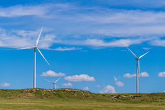 Kansas Wind Turbines Royalty Free Stock Photography