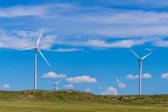 Kansas Wind Turbines Royalty Free Stock Photography