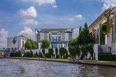 Kanslers kontor berlin Tyskland Royaltyfri Foto