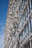 kansli för facade för luftbyggnadsco Royaltyfri Foto