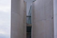 Kanslibyggnaden i Berlin-Mitte arkivbild