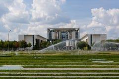 Kanslibyggnaden i Berlin-Mitte fotografering för bildbyråer
