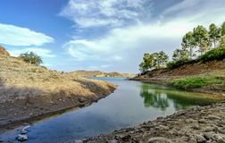 Kanssara湖  免版税图库摄影
