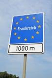 Kant av Frankrike Royaltyfria Foton