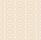 Kant beige patroon. Stock Illustratie