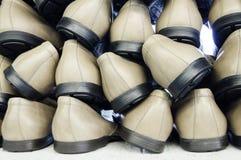 Kant-en-klare paren schoenen Stock Afbeelding
