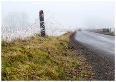 Kant för frostslaggräs Royaltyfria Bilder