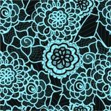 Kant naadloos patroon met abstracte elementen Vector bloemenachtergrond Royalty-vrije Stock Foto