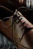 Kant op schoenenmensen Stock Foto