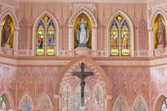In kant Rooms-katholiek, Thailand Royalty-vrije Stock Fotografie