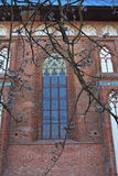 Kant's cathedral arched window Royalty Free Stock Image