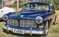Kant van de klassieke auto in donkergroen Royalty-vrije Stock Fotografie