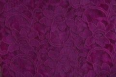Kant van guipurestof met bloemenpatroon Royalty-vrije Stock Afbeeldingen