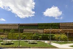 Kant van Israel Pavillion, EXPO 2015 Milaan Stock Fotografie