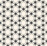 Kant vectortextuur, subtiel naadloos patroon, geometrische backgrou Royalty-vrije Stock Foto