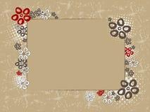 Kant - ystra blommor Arkivfoton