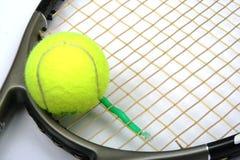 kanta balowy tenis Zdjęcie Stock