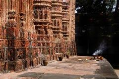 Kantaji tempel, Dinajpur Arkivfoto