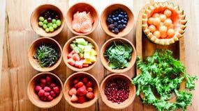 Kantaloepsalade royalty-vrije stock afbeelding