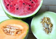 Kantalupa melon Obrazy Royalty Free