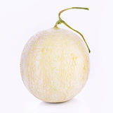 Kantalupa melon na białym tle fotografia stock