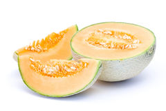 kantalupa melonu pomarańcze fotografia royalty free