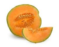 kantalupa melonu pomarańcze Obrazy Royalty Free