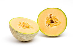 kantalupa melonu pomarańcze obraz royalty free