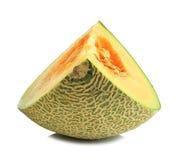Kantalupenmelonenscheiben Lizenzfreie Stockfotos